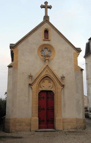 Chapelle où est enterrée Mme Carré de Malberg