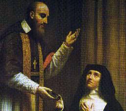 François de Sales et Jeanne de Chantal
